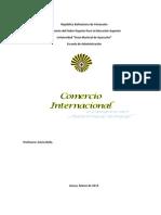 Trabajo de Comercio Internacional