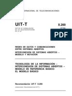 UIT-T Redes de Datos y Comunicaciones Interconewxion de Sistemas Abiertos X.200-199407-I!!PDF-S