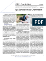 443 - Grandma in Georgia Schools Senator Chambliss on Guns and More!