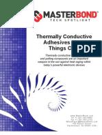 Master Bond Thermally Conductive Adhesives Keep Things Cool