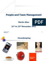 Paople and Team Management