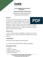 Curso de Desmonte de Rochas - Conteúdo CREA-MG