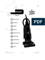 Vacuum Cleaner Manual