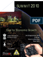 3rd Coal Summit Brochure