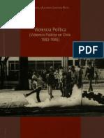 93311795 Alejandra Lunecke Violencia Politica en Chile 1983 1986