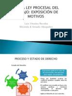 34777896 Nueva Ley Procesal Del Trabajo Exposicion de Motivos