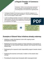 Bogota Chamber of Commerce Shared Value 2012