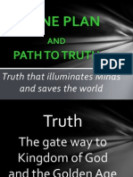 Divine Plan and Truth