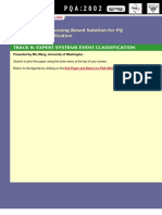 A New Signal Processing Based Solution for PQ Disturbance Classification