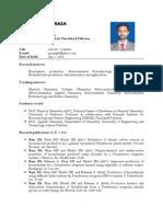 Dr ZA Raza, HEC Approved Supervisor