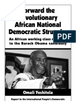 Forward the Revolutionary African National Democratic Struggle