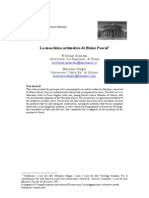 4. La Macchina Aritmetica Di B. PASCAL