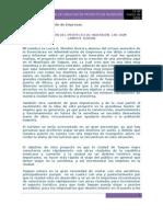 Informe de Creacion de Proyecto de Inversion