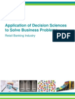 Analytics for Retail Banking Marketelligent