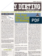 Dirty Dieting Newsletter