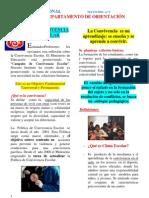 LA CONVIVENCIA - boletin de orientación mayo 2011
