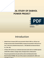 Dabhol power project