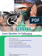 Love Quotes in Cebuano Free - Learning Cebuano