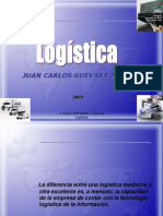 1ra Diapositiva - Que Es Logistica