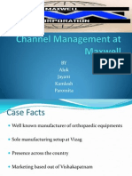Channel Distribution at Maxwell