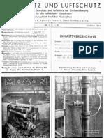 Gasschutz und Luftschutz 14.Jahrgang 1944 / Zeitschrift für das gesamte Gebiet des Gas- und Luftschutzes der Zivilbevölkerung