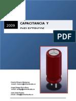 Informe Capacitancia y dielectricos