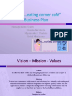 """Mmm…eating corner café"" Business Plan"