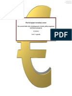 The European Monetary Union and the Current Debt Crisis
