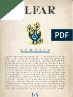 Revista Alfar n. 64