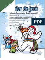 Cahier de Jeux 2009