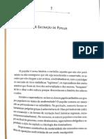 Módulo 1 - aula 6 - Néstor García Canclini - A encenação do popular