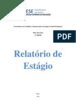 Relatório de Estágio 2011-2012 Mário Silva Problemas éticos no exercício da profissão de ILGP