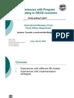 Experiencias en Paises de La OECD Holgervan Eden