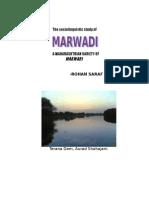 Marwadi - A Maharashtrian Variety of Rajasthani