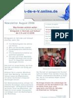 Newsletter 2006 08