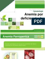 7.- Anemia Por Deficiencia de Hierro