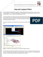 Microstrip Bandstop and Lowpass Filters (1)