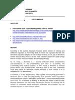 Derivatives Article Report