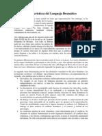 caracteristicas del lenguaje dramatico, actris, director e interpretacion de los signos.docx