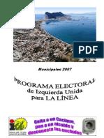 Programa Electoral I.U. 2007