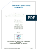 Hedging Instruments Against Foreign Exchange Riskfinal Report1213
