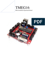 ATMEGA16 Microcontroller with 8MHz Oscillator UserManual