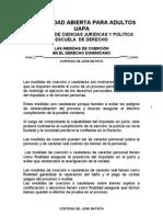 LAS MEDIDAS DE COERCION EN EL DERECHO DOMINICANO