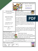 newsletter 4 8