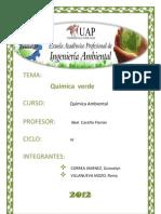 Informe de Quimica Verde