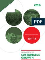 Ruchi Soya Annual Report 2011-12