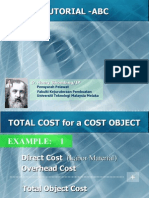 BMFP 4512 Chapter-3 Tutorial (Activity Based Costing)