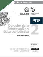 Derecho y Etica Periodistica - Modulo 2