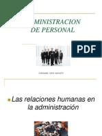 Administracion de Personal Power