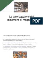 43_La Valorizzazione Del Magazzino